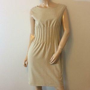 Calvin Klein size 8 tan dress medium